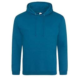 Just Hoods College Hoodie L,Deep Sea Blue von Just Hoods