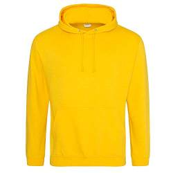 Just Hoods College Hoodie XXL,Gold von Just Hoods