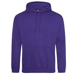 Just Hoods - Unisex College Hoodie/Ultra Violet, 3XL von Just Hoods