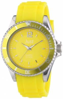 Just Watches Damen-Armbanduhr Analog Quarz Kautschuk 48-S3857-YL von Just Watches