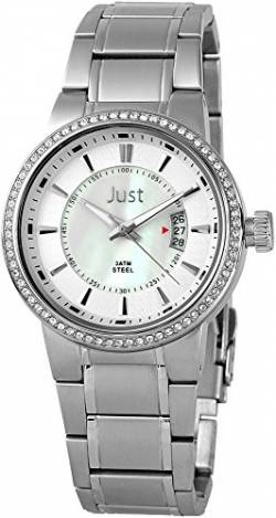 Just Watches Damen-Armbanduhr Analog Quarz Leder 48-S8265B-PL von Just Watches