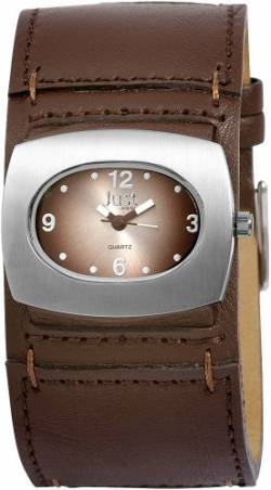 Just Watches Damen-Armbanduhr Analog Quarz Leder 48-S8977-BR von Just Watches