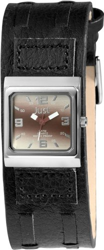 Just Watches Damen-Armbanduhr Analog Quarz Leder 48-S9237L-LRD von Just Watches