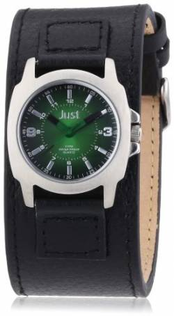 Just Watches Damen-Armbanduhr XS Analog Leder 48-S9238L-BK-GR von Just Watches