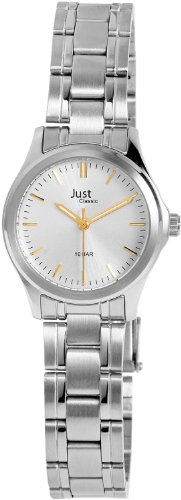 Just Watches Damen-Armbanduhr XS Analog Quarz Edelstahl 48-S41043-SL von Just Watches