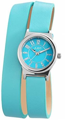 Just Watches Damen-Armbanduhr XS Analog Quarz Leder 48-S4062-HBL von Just Watches
