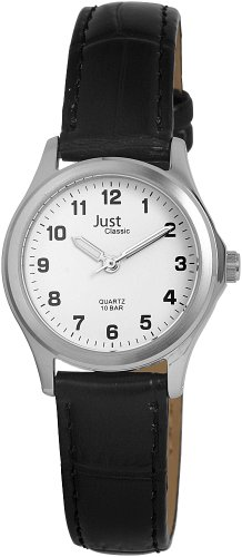 Just Watches Herren-Armbanduhr Analog Leder 48-S31025-WH von Just Watches
