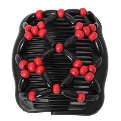 Trend African Hairclip Haarklammer Butterfly Holzdesign in Blüten Braun eNwrg