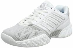 K-Swiss Performance Damen KS TFW Bigshot Light 3 CRPT-WHT M Tennisschuhe, White/Silver, 37.5 EU von K-Swiss Performance