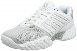 K-Swiss Performance Damen KS TFW Bigshot Light 3 CRPT-WHT M Tennisschuhe, White/Silver, 42 EU von K-Swiss Performance