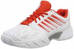 K-Swiss Performance Damen Bigshot Light 3 Tennisschuhe, Weiß White Fiesta Silver 30, 41.5 EU von K-Swiss Performance