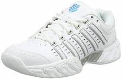 K-Swiss Performance Damen Bigshot Light LTR Carpet Tennisschuhe, Weiß (White/Hawaiian Ocean), 41.5 EU von K-Swiss Performance