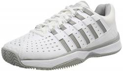 K-Swiss Performance Damen HYPERMATCH HB Tennisschuhe, Weiß (White/Highrise 107-M), 38 EU von K-Swiss Performance