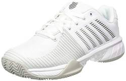 K-Swiss Performance Damen KS TFW Express Light 2 HB-White/Gull Grey-M Tennisschuh, 38 EU von K-Swiss Performance