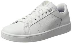 K-Swiss Damen Clean Court Cmf Sneakers, Weiß(White/Gull Gray 131), 40 EU von K-Swiss