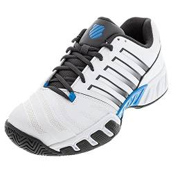 K-Swiss Performance Herren Bigshot Light 4 Tennisschuh, White/Dark Shadow/Swedish Blue, 46 EU von K-Swiss