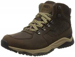 KEEN Herren Root Brown Trekking- & Wanderstiefel, Braun (Innate Leather Mid Wp Ltd 1021807), 42 EU von KEEN
