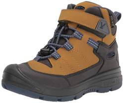 KEEN Redwood MID WP-C Hiking Boot, Harvest Gold/Vintage Indigo, 30 EU von KEEN