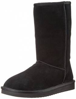 Koolaburra by UGG Women's Koola Tall Classic Boot, Black, 37 EU von KOOLABURRA BY UGG