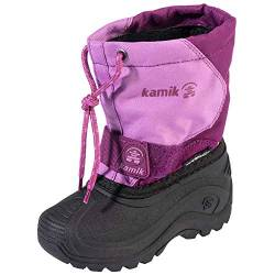 Kamik Snowfox Winterstiefel Kinderstiefel 2020 Grape Orchidee 37 EU von Kamik