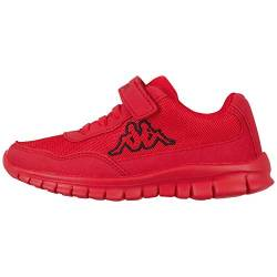 Kappa Unisex Kinder Follow OC Kids Sneaker, 2011 red/Black von Kappa