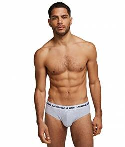Karl Lagerfeld Mens Logo Set (Pack of 3) Briefs, Multi, L von Karl Lagerfeld