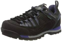 Karrimor Damen Spike Low 3 Ladies Weathertite Trekking-& Wanderhalbschuhe, Black Purple, 38 EU von Karrimor