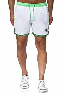 Kayhan Swimwear Sport White/Green Neon Ribbons XL von Kayhan