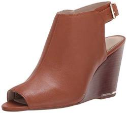 Kenneth Cole New York Damen Wedged Open Toe Pump Pumps, Cognac, 37 EU von Kenneth Cole New York