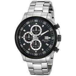 Kenneth Cole Dress Sport Herren Chronograph silber/schwarz KC9384 von Kenneth Cole