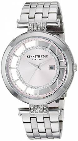 Kenneth Cole New York Damen-Armbanduhr Analog Quarz Edelstahl KC15005011 von Kenneth Cole