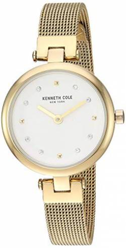 Kenneth Cole New York Damen-Armbanduhr Analog Quarz Edelstahl KC50511002 von Kenneth Cole