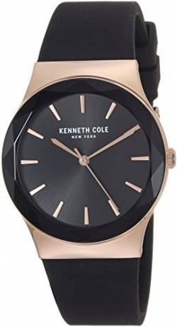 Kenneth Cole New York Damen-Armbanduhr Analog Silikon KC50060001 von Kenneth Cole