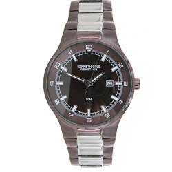 Kenneth Cole New York Herren-Armbanduhr Analog Edelstahl KC3623BNIP von Kenneth Cole