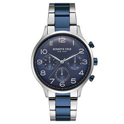 Kenneth Cole New York Herren-Armbanduhr Analog Quarz Edelstahl KC15185003 von Kenneth Cole