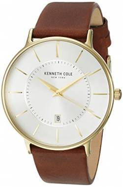 Kenneth Cole Men's Casual Watch KC15097004 White Stainless-Steel Quartz Fashion Watch von Kenneth Cole