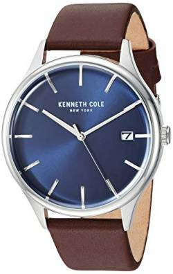 Kenneth Cole New York Herren Uhr Armbanduhr Leder KC15112001 von Kenneth Cole