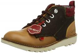 Kickers Herren Kick Hi Winterised Klassische Stiefel, Braun (Light Brown BRWN), 38 EU von Kickers