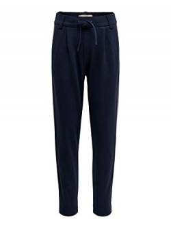 ONLY Mädchen Konpoptrash Easy Piping Pant Hose, Blau(Night SkyPiping - White), 134 von ONLY