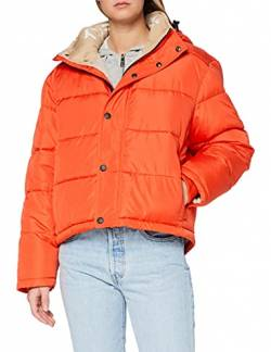 Kings of Indigo Damen ZHENGA Jacke, Orange (Burnt ORANGE 7801), (Herstellergröße:XS) von Kings of Indigo