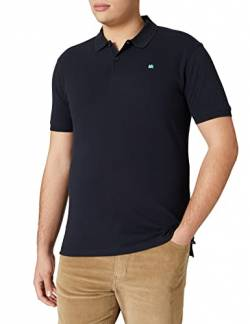 LERROS Herren Regular Fit Poloshirt Polo 2003200, Einfarbig, Gr. Medium, Blau (night blue 480) von LERROS