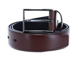 LLOYD Thin Belt 3.5 W95 Dark Brown - kürzbar von LLOYD Men´s Belts