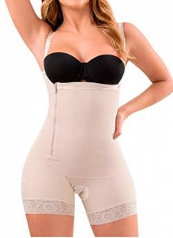 LT.ROSE Fajas Postparto Colombianas 21111 Shapewear für Damen - Beige - Small von LT.ROSE