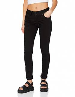 LTB Jeans Damen Molly M Jeans, Black to Black Wash 4796, 34W / 34L von LTB Jeans