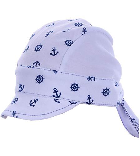 La Bortini Baby Kinder Haarband Stirnband Hairband Blau mit Schiff festlich sommerlich