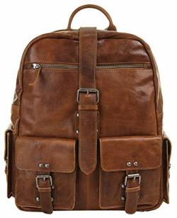 LandLeder Rucksack Rugged washed brown von LandLeder