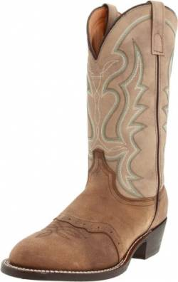 Laredo Men's Big Bend Boot,Cork Dirty Dog,8 EE US von Laredo