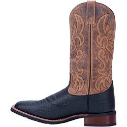 Laredo Men's Western Boot, Black - Tan, 8.5 X-Wide von Laredo