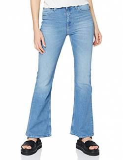 Lee Damen Breese Flared Jeans, Blau (Jaded Eu), W30/31L von Lee