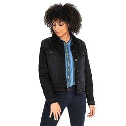Lee Femme Sherpa Jacket Jacke, Noir (Black Tyro JW), Large von Lee
